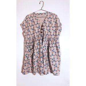 ✨free people✨ retro baby doll dress NWT